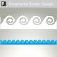 Chalcis Ornamental Border Sticker