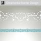 Miletus Ornamental Border Sticker