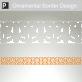 Delphi Ornamental Border Sticker