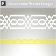 Pylos Ornamental Border Sticker