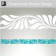 Eretria Ornamental Border Sticker