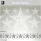 Snow Star Border Sticker thumbnail 2