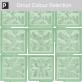 Green 15cm Glass Blocks Window Film