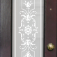 Hope Victorian Frosted Door Pattern