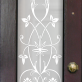 Nancy Victorian Frosted Door Pattern