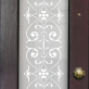 May Victorian Frosted Door Pattern