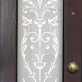 Lucy Victorian Frosted Door Pattern