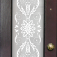 Ella Victorian Frosted Door Pattern