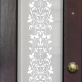 Agnes Victorian Frosted Door Pattern