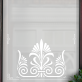 Leah Victorian Frosted Door Pattern