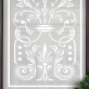 Jane Victorian Frosted Door Pattern