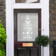 Bess Victorian Frosted Door Pattern