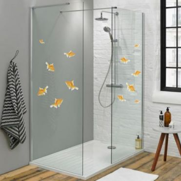 Goldfish Decorative Window Stickers