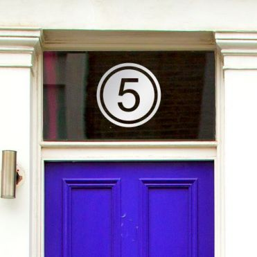 House Number Sticker HNC 3B