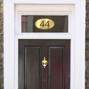Window Stickers House Numbers