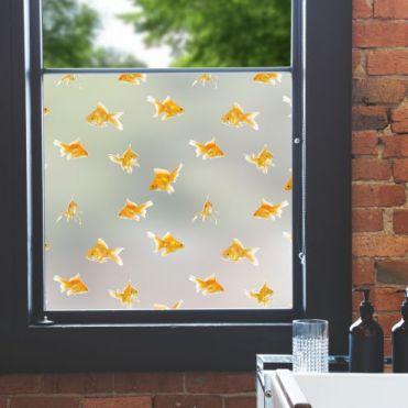Goldfish Pattern Window Film