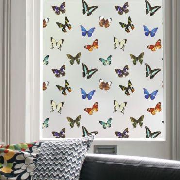 Butterfly Pattern Window Film