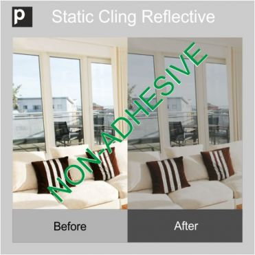 Static Cling Mirror Film