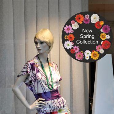 Custom Text Circular Floral Frame