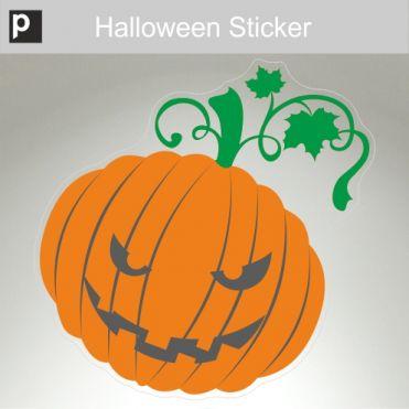 Grumpy Pumpkin Sticker