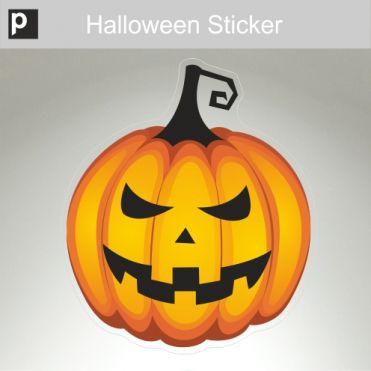Fierce Pumpkin Sticker
