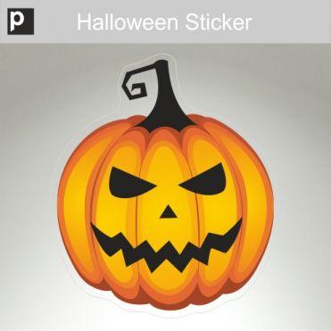 Meany Pumpkin Sticker