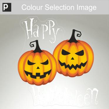 Fierce & Meany Pumpkin Sticker
