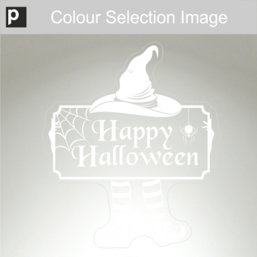 Leggy Halloween Sticker