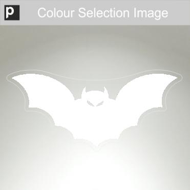 Large Spooky Bat Sticker