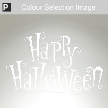Curly Halloween Sticker