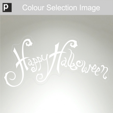 Scripty Halloween Sticker