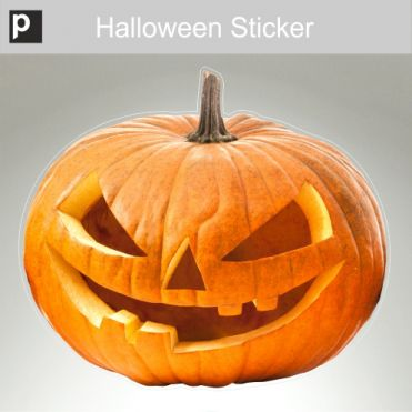 Davo Jack O'Lantern Sticker