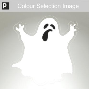 Captain Ghost Sticker