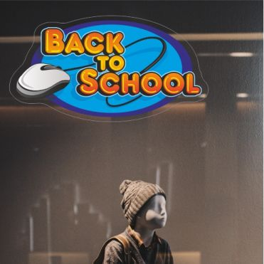 Mouse Back To School Sticker