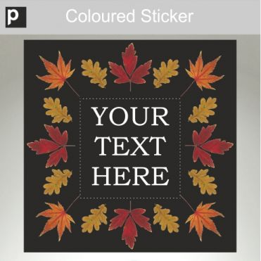 Create Your Own Text Sticker