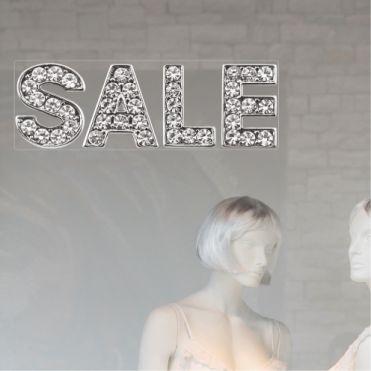 Diamond Sale Word Sticker