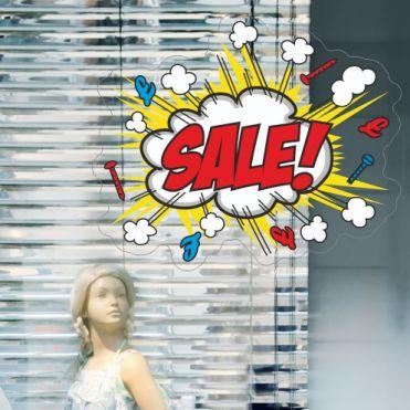 Comic Book Sale Sticker