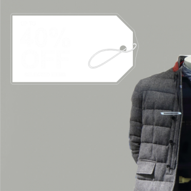 Label 40% Discount Sticker