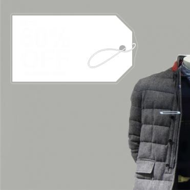 Label 60% Discount Sticker