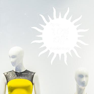 Sun 10% Discount Sticker