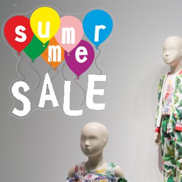 Bright Summer Sale Balloon Sticker