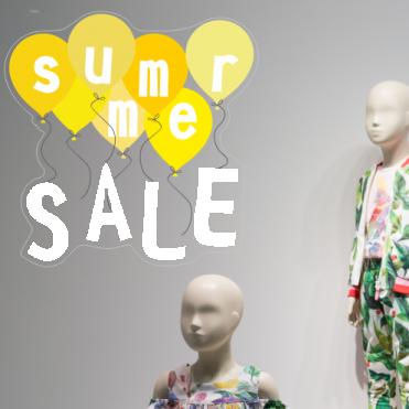 Yellow Summer Sale Balloon Sticker