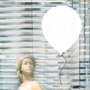 Balloon Discount Summer Sale Sticker