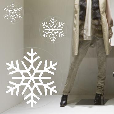 Fern Classic Snowflake Sticker