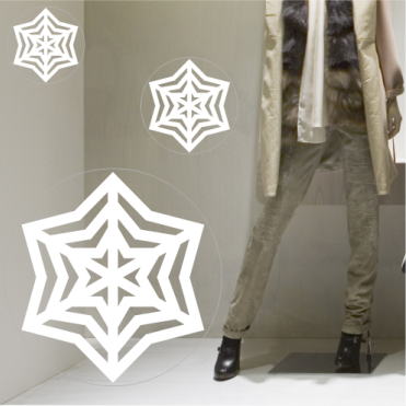 Stellar Classic Snowflake Sticker