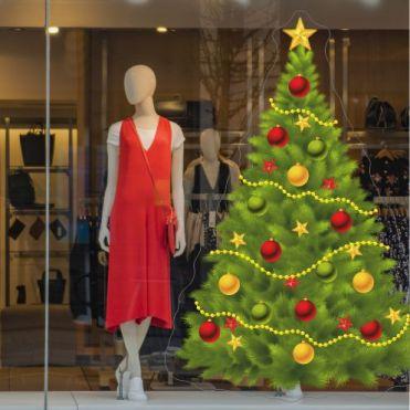 Spruce Christmas Tree Sticker