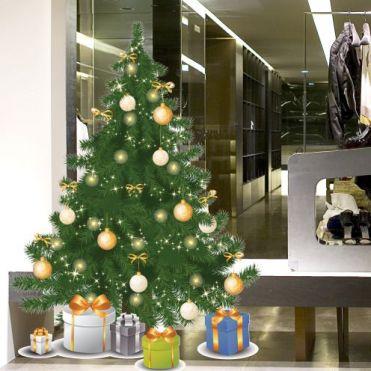 Douglas Christmas Tree Sticker