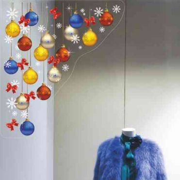 Bright Bauble Christmas Corners
