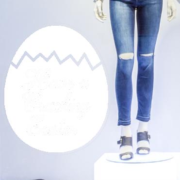 Cracking Easter Text Egg