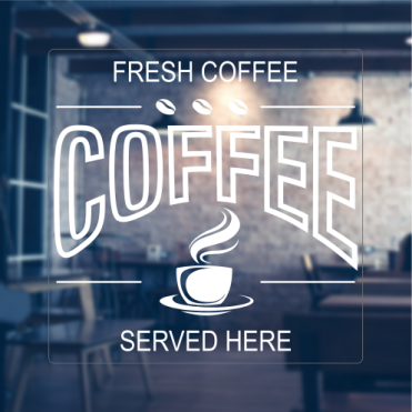 Fresh Coffee Sticker